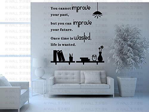 Personaliseerbare muurstickers met tekst 'Quotse', personaliseer', black, doe-het-zelf, vinylstickers
