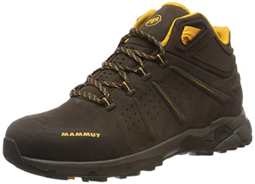 Mammut Damen Convey Mid GTX Trekking- & Wanderstiefel, Light Deer-Light Cheddar, 39 1/3 EU