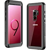 Temdan Samsung Galaxy S9 Plus Case, 360 Heavy Duty