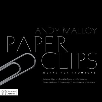 Paper Clips: Works for Trombone