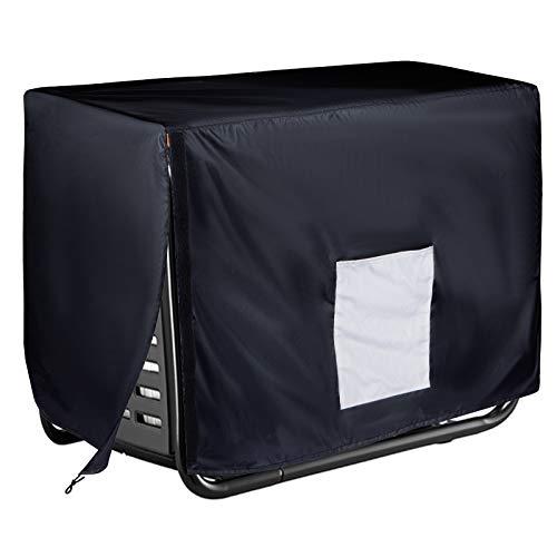 Softclub Waterproof Generator Cover for Universal 3000-8000 Watt for Most Portable Generator, 32 x 24 x 24inch Black