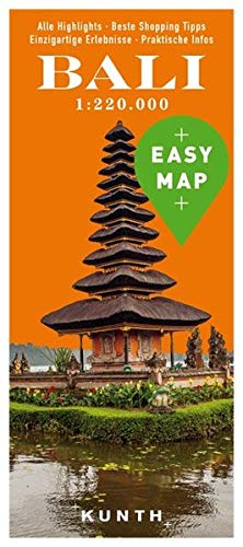 EASY MAP Bali: 1:220.000