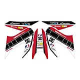 accessorypart YAMAHA WR 125 X/R Sticker Set 60. Año Rojo
