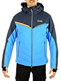 Colmar Kandahar Ski Jacket, Giacca Uomo, Nero Blu, 52