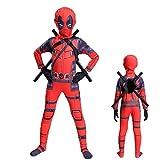 YQFZ Kinder Deadpool Cosplay Kostüm Sport Overall Cosplay Kostüm Für Kinder Weihnachten...