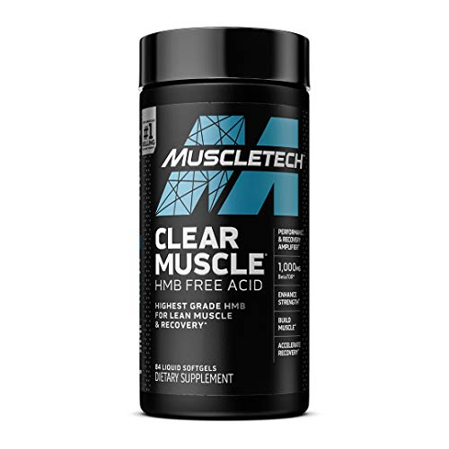 Muscle Recovery Post Workout | MuscleTech Clear Muscle Workout Recovery | Muscle Builder for Men & Women | HMB Supplements | Sports Nutrition Post Workout Recovery & Muscle Building Supplements, 84 ct