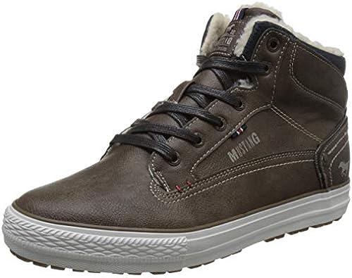 Mustang 4129-602 Schuhe Herren Schnür Stiefel High Top Turnschuhe Turnschuhe Turnschuhe  online Shop