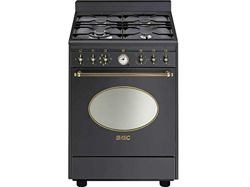 preis smeg co68gmad8 gas kombi stand herd anthrazit schwarz retro kochstelle kochmulde. Black Bedroom Furniture Sets. Home Design Ideas
