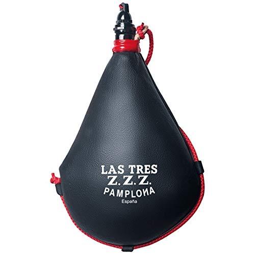 Las Tres Z.Z.Z. Bota de Vino Suprema de pez Recta - 2 litros