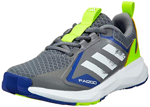adidas Fai2Go K, Zapatillas de Running, Gritre/FTWBLA/Amasol, 38 EU