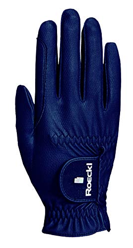 Roeckl Sports Roeck Grip Pro Handschuh, Unisex, Reithandschuhe, Touchscreen, Marine 6