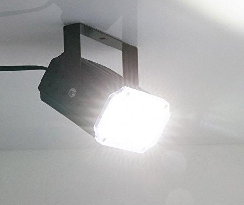 luz estroboscópica Latta Alvor Luces estroboscópicas 36 LED ultrarrápidas luz de la de la etapa sonido activado y control de velocidad luces disco