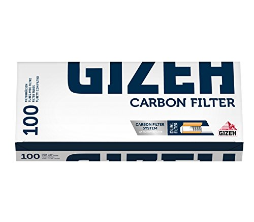 Gizeh Silver Tip Charbon Filterhülsen Aktivkohlefilter 100er 50 Boxen (5000)