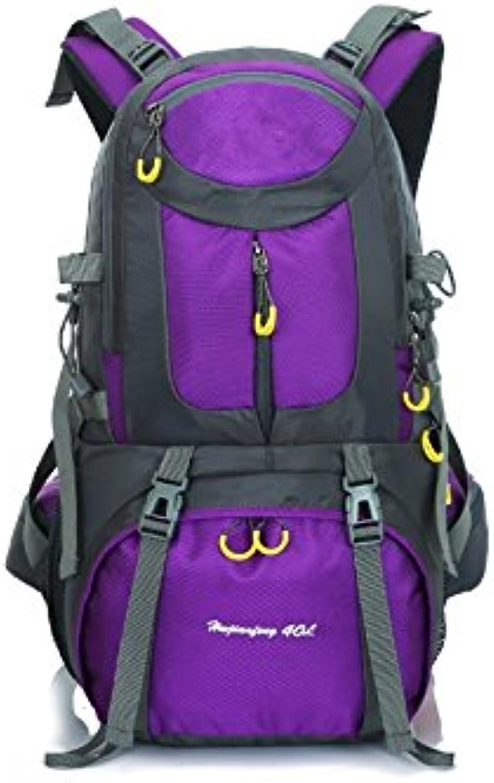 ADream Dauerhaft 50L Sport Outdoor Rucksack Klettern Tasche Tasche Tasche Wandern Camping Rucksack (Lila) B07GB53S2P   Garantiere Qualität und Quantität  afc607