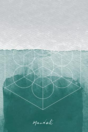 Mardöll Freyja Sea-Brightener Valkyrie Norse Viking Goddess Mythology Abstract Sacred Geometry 6x9' notebook journal