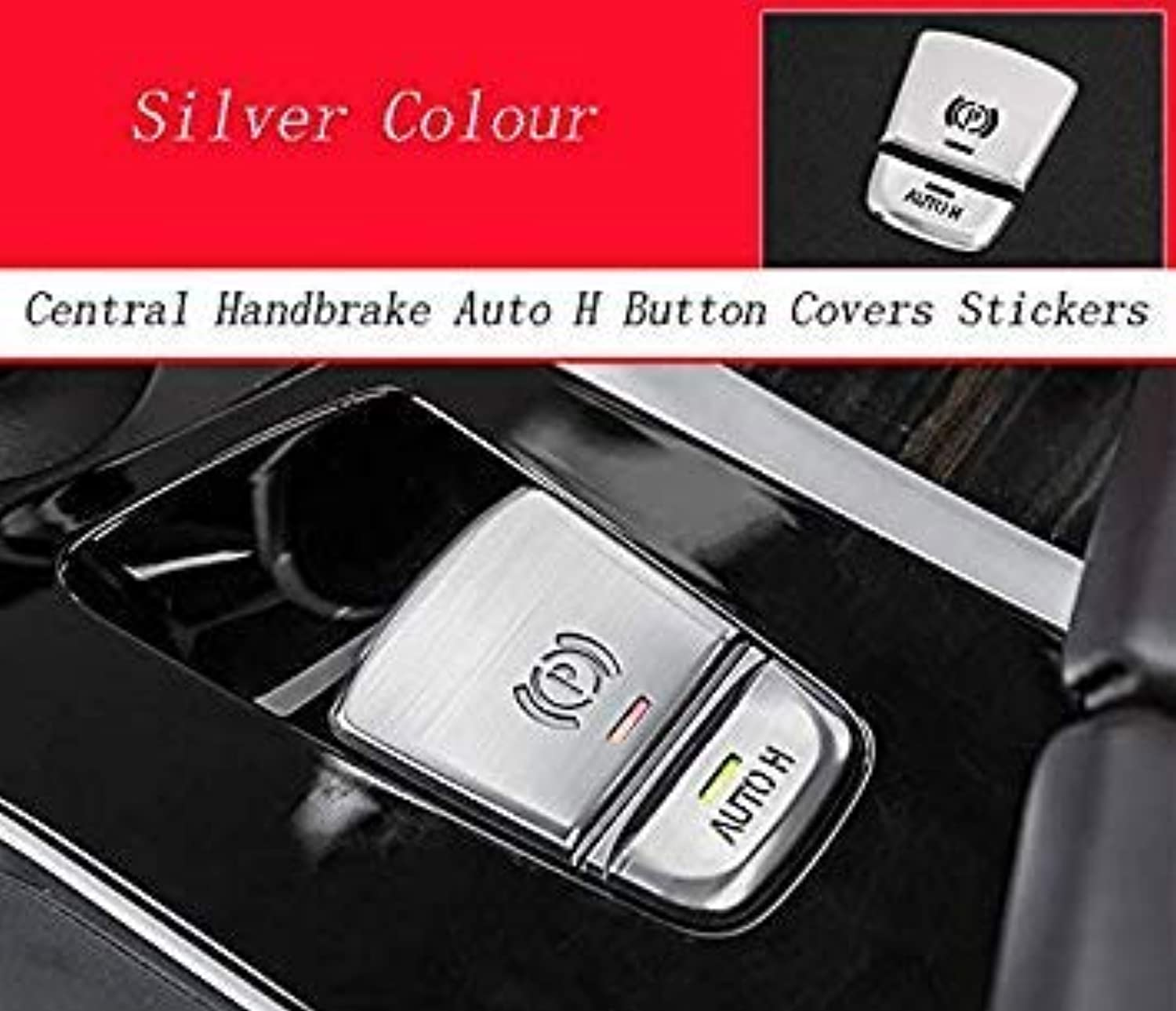 Car Styling Interior Metal Multimedia Buttons Cover Decorative Trim Stickers Accessories for BMW 5 Series G30 G38 Accessories color Name Silver
