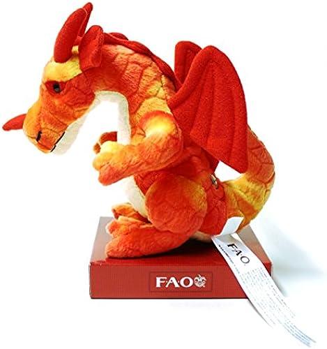 FAO Schwarz8 inch Miniature Dragon - rot