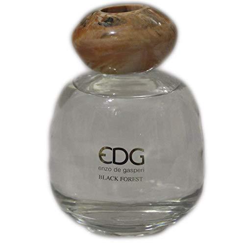 Profumatore per ambienti con oli essenziali e pietra per aroma terapy, fragranza black forest, Enzo De Gasperi