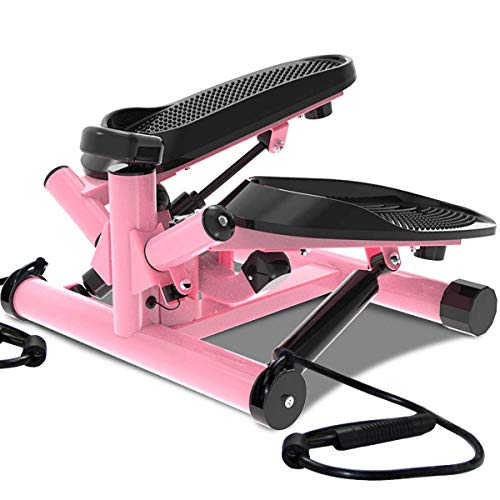 Máquina elíptica, Mini Fitness Stepper Bicicleta de Ejercicio portátil Bicicleta Multifuncional de Ejercicio con Pantalla Digital Cojinete 120 kg Bajo Escritorio Máquina Entrenador Oficina Inicio