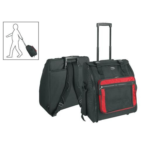 Boston Akkordeon Trolley Gigbag 120 Bass / 47x53x22 / schwarz