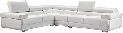 Amazon Com Talia Conversation Sectional Sofa With Built
