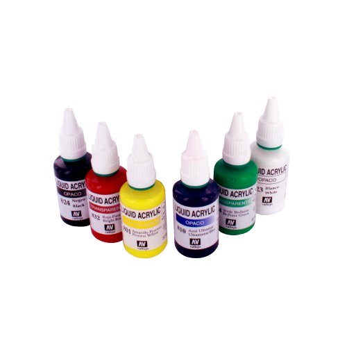 Spraycraft - Conjunto de Colores acrílicos para aerógrafo