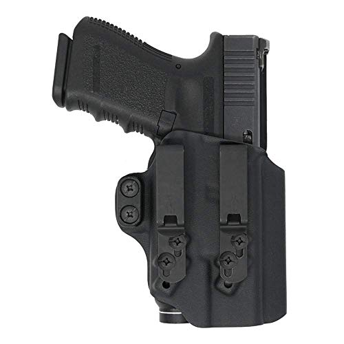 SAGAX LUX2 Appendix Inside The Waistband Conceal Carry Gun Holster for Glock 19/23/32