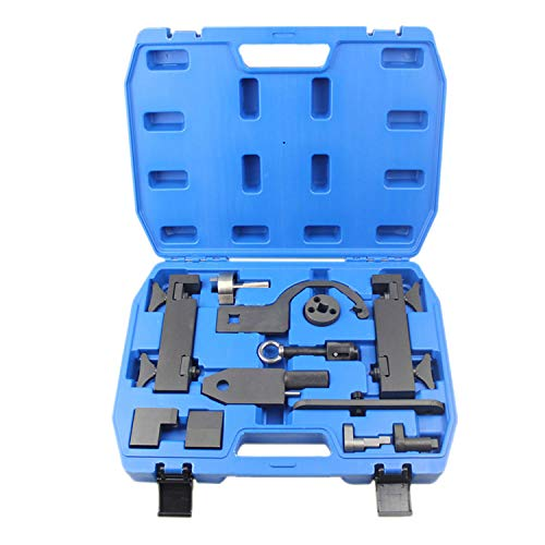 Camshaft Alignment Tool Kit for Land Rover Jaguar Discovry 4 Rang Rover Sport V8 5.0 L V6 3.0L Engine Timing Tool with Fuel Pump/Injector Tool Whole Set