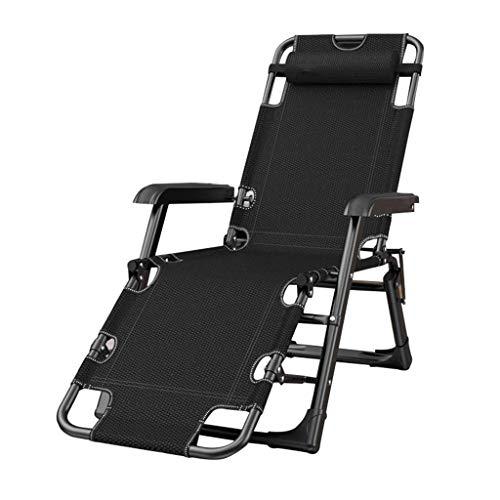 FHISD Zero Gravity Recliner Chair mit übergroßer Rückenlehne, Verstellbarer Patio-Loungesessel mit Lendenwirbelstützkissen und Beistelltischstütze £ 330