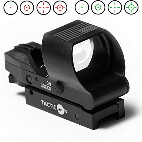 top 10 red dot sights Predator V2 Reflection Site | A company owned by a combat veteran included a mount that was offset by 45 degrees.  …