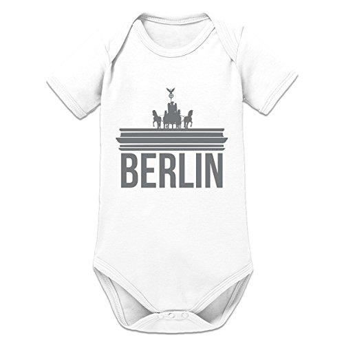 Shirtcity Berlin Brandenburger Tor Baby Strampler by