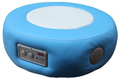 Multimediahocker Sitz Loop Pro Soundhocker Musikhocker 4.1 System blau