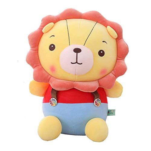 R 30cm Cartoon Strap Lion Puppe Lätzchen Hosen Plüschtier Weiche Gefüllte Tier Lion König Puppe Kind Mädchen Kawaii Geschenk-30cm_Lion_China Shuanghao.