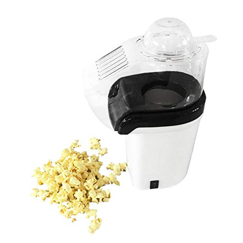 Best Price Popcorn Machine Hot Air Popcorn Popper + Popcorn Maker Wtih Measuring Cup To Measure Popc...