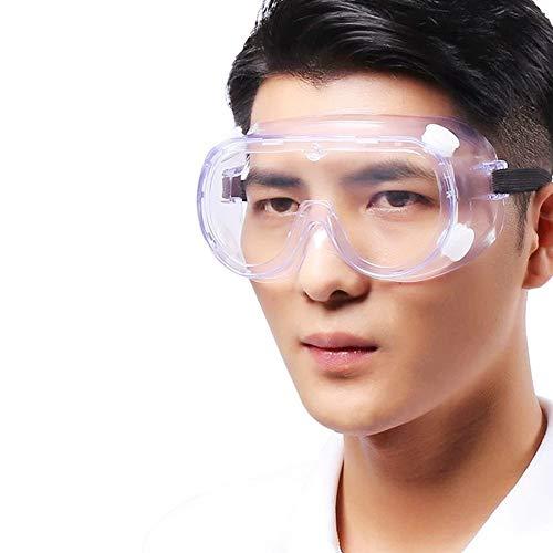 Xiaolizi 10 stks Anti-Virus Total-ingesloten Transparant Oogbescherming Gogggles Bijziendheid Kan Draag Rolluiken Beschermende Goggles Anti-Splash Multi-funct