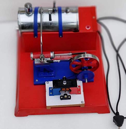 Life Model Working Stoommachine met Dynamo elektrische boiler, horizontale kolf 220 V.