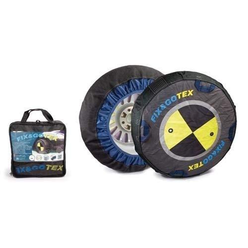 FIX&GOTEX - 8ZFA - Cadenas de nieve, cadena textil para coche TALLA: A