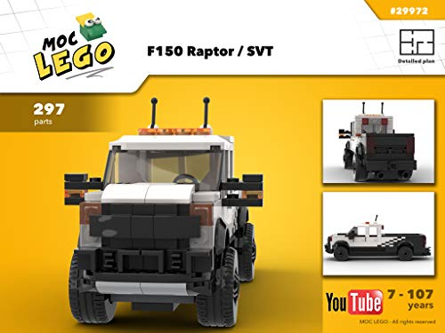 F150 Raptor / SVT (Instruction Only): MOC LEGO (English Edition)