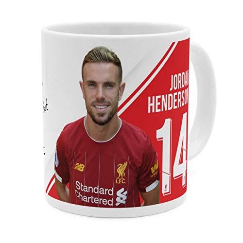 PhotoFancy Tasse Liverpool mit Namen personalisiert - Design Liverpool FC Henderson Autograph