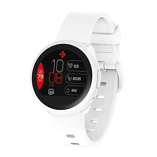 "MyKronoz ZeRound3 Lite Reloj Inteligente Blanco TFT 3,1 cm (1.22"") - Relojes Inteligentes (3,1 cm (1.22""), TFT, Pantalla táctil, 72 h, 40 g, Blanco)"