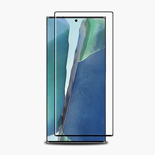 Panzerglas Screen Ersatz für Samsung Galaxy Note 20 Ultra 6,9 Zoll Sichtschutzfolie Panzerglas, 9H 3D Tempered Glass Film Full Screen Schutzfolie Gehärtetem Glas Sichtschutz gebogen Kanten (1PCS)