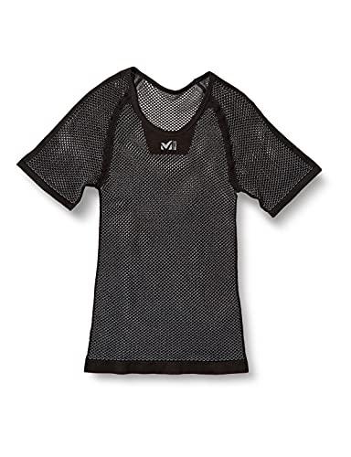 [ミレー] ドライナミックメッシュショートスリーブ (DRYNAMIC MESH) メンズ Black-Noir EU S/M (日本サイズ...