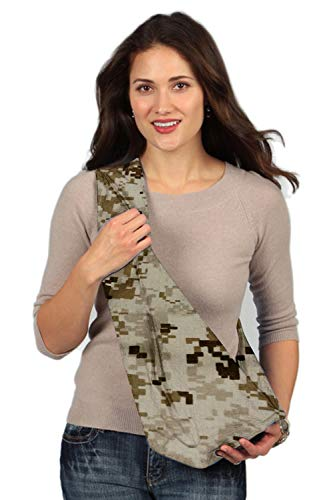 HugaMonkey Camouflage Military Baby Sling Wrap Carrier for Newborn Babies, Infants and Toddlers Upto 3 Years - Brown, Extra Large