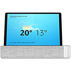 Lenovo Smart Tab M10 Plus Tablet, Display 10.3´´ Full HD, Smart Docking Alexa, Processore MediaTek Helio P22T, 128 GB Espandibile fino a 256 GB, RAM 4 GB, WiFi+Bluetooth, Android Pie, Platinum Grey