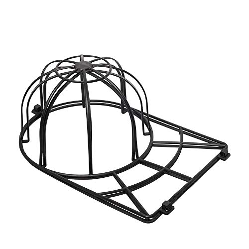 Huaxiangoh 1 Pack Baseball Hat Washer for Washing Machine,Cap Washer Frame Cage,Hat Cleaner Protector Hat Rack for Baseball Hats