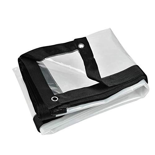 Lonas Transparente De MúLtiples Funciones Impermeable Lona Cubierta, Transparente Impermeable Lona De ProteccióN Impermeable, A Prueba De Viento,Exterior(4x5m(13.1x16.4ft))