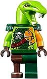 LEGO Ninjago Clancee - Minifigura de Clancee con hombreras y mopa (pirata aérea/Skybound)