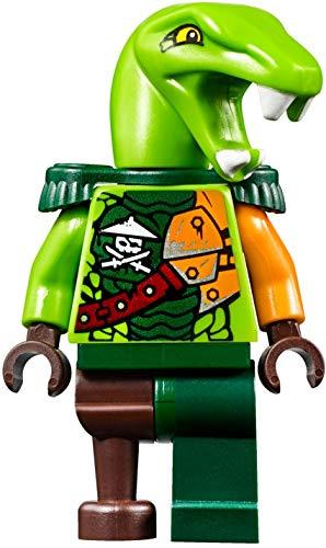 LEGO Ninjago - Minifigura de Clancee con hombreras y espadas (pirata aérea/Skybound)