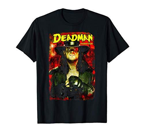 US WWE Undertaker Deadman Forever 01 Black Camiseta