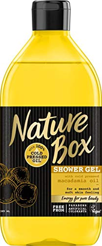 Nature Box Douchegel Macadamia, 385 Ml